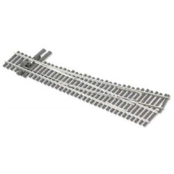 Peco Ho Scale Code 83 Insulfrog 5 Left-hand Turnout