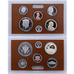 2015 S Partial Proof Set Kennedy Dime Nickel Cent Dollar Cn-clad Us Mint 5 Coins