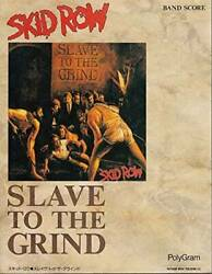 Used Skid Row Slave To The Grind Japan Band Score Sheet Music Guitar Tab