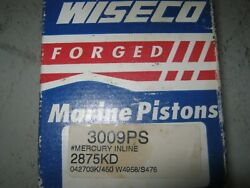 Outboard Mercury Wiseco Piston And Rings 3009ps / 2875kd