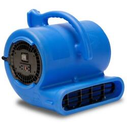 B Air Air Mover 1/3 Hp Water Damage Restoration Carpet Dryer Fan Thermoplastic