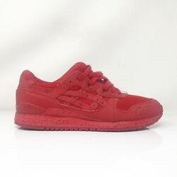 Asics Mens Gel Lyte 3 H6x3l Red Running Shoes Lace Up Low Top Size 9.5