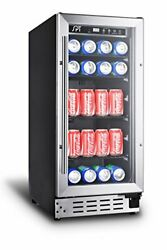 Sunpentown Bc-92us 92-can Under-counter Beverage Cooler Commercial Grade Gra