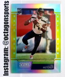 2019 Panini Chronicles Score Gold Zone Dk Metcalf Rc 1/50 1/1 First One