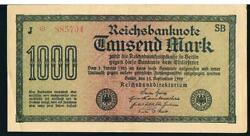 Germany - Reichsbank Banknotes P76 Series 1922 - Choose Note