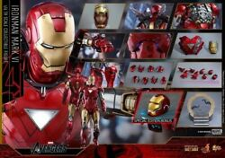 Hot Toys Iron Man 2 Mms378-d17 Mark Vi Diecast 1/6 Action Figure Exclusive