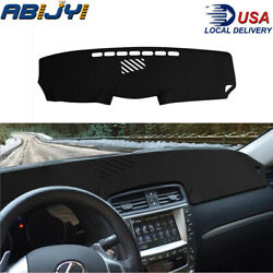 Leather Car Dashboard Cover Nonslip Dashmat Dash Mat For Lexus Is250 Is350 06-11