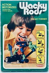 Remco 1976 Wacky Rods Freaky Fanner Action Motorized 1000 Variations Mint In Box