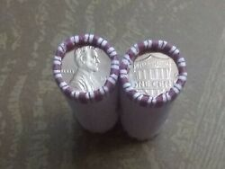 Two 2 Rolls 2018 D Uncirculated Cents 100 Lincoln Cents Errors