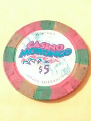Morongo Casino California 5.00 Chip Great For Any Vintage Collection