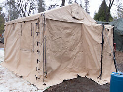 Us Military Modular Command Post System 11 X 11' Tent
