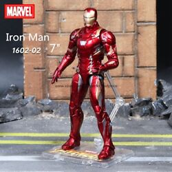 New Iron Man Marvel Avengers Legends Comic Heroes Action Figure 7quot; Kids Toys