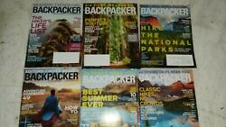 backpacker magazine back issues lot of 6 2014 2015 $15.00