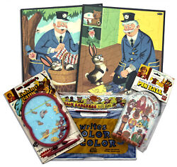 From Estate Captain Kangaroo 1950s Games, Puzzles, Toys