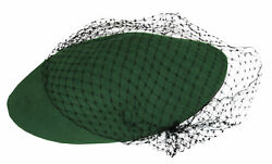 Alicia Keys Worn Green And Black Lace Beret W Her Coa