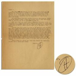 Hunter S. Thompson Letter Signed Re Big Sur And Playboy