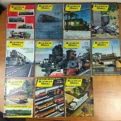 1969 Railroad Model Craftsman Magaines Lot Of 11 Issues