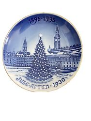 Bing And Grondahl Christmas Centennial Collection Plate From Denmark
