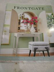 Frontgate Front Gate Catalog Look Book December 2020 The Interior Event Brand Ne