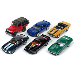 Classic Gold 2017 Release 4 Set B Of 6 Cars 1/64 Diecast Model Cars By Johnny Li