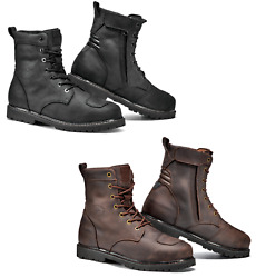 Sidi Denver Wr Ce Approved Motorcycle Motorbike Short Leather Urban Casual Boot