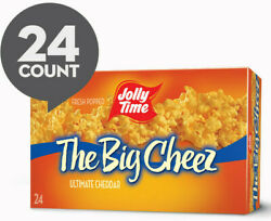 Jolly Time The Big Cheez Cheddar Cheese Microwave Popcorn 24 Ct 3.5 Oz. Bags