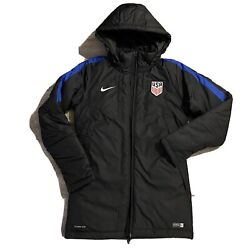 New Nike 2016 Usa National Soccer Uswnt Team Issue Parka Jacket Women's Small S