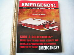 Code 3 Collectibles Emergency Squad 51 Collector Set Advertising Fold Out Poster