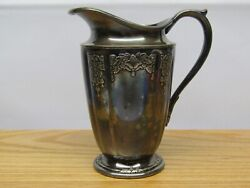 Vintage Rogers Bros Her Majesty Silverplate Creamer / Small Pitcher 1930and039s