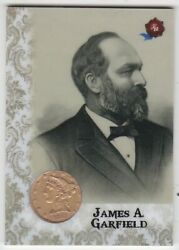 2020 Historic Autographs Potus The First 36 James A Garfield Gold Half Eagle /10