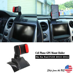 Car Dashboard Cell Phone Gps Mount Holder Stand Bracket For Ford F150 2013-2014