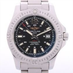 Breitling Colt A17388 Stainless Steel At Black Dial Links3 Band