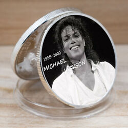 Valentineand039s Day Gift Michael Jackson Commemorative Gold Plated Coin For Kid