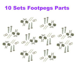 Stainless Steel Footpegs Parts For Yamaha Yz250f Yz125x Yz250fx Yz450fx Footrest