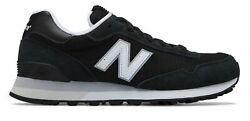 New Balance Womenand039s 515 Classic Shoes Black With Silver