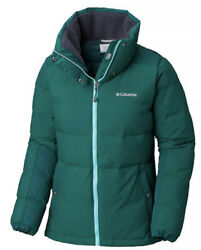 New 175 Columbia Womenandrsquos Winter Challenger Down Jacket 550 Fill Green Ivy M/s