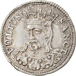 [904792] Coin Italian States Lucca Grosso 1766 Firenze Au55-58 Silver