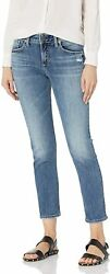 Silver Jeans Co. Womenand039s Avery Curvy Fit High Rise Slim Leg Jeans