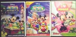 Mickey Mouse Clubhouse Collector Dvds Lot 2