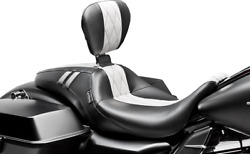 Le Pera Outcast Gt Seats With Backrest White Diamond Lk-987gtwdm
