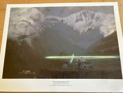 That Others May Live By Lt. Col Warren F Neary Hand Signed - Aviation Art Print