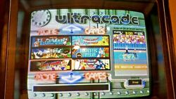 Original Ultracade Arcade Game - Multi Game System 40 Games Upgradeable