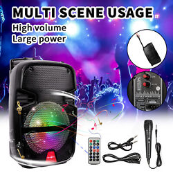 4400 Watts Wirelessly Portable Party Bluetooth Speaker With Microphone amp; Remote