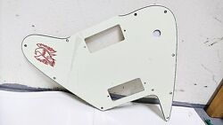 Pickguard For Gibson Non Reverse Firebird - Ivory For Toggle Switch, Mini Hum