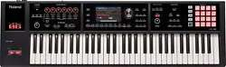 Roland Music Workstation Fa-06 Synthesizer 61 Keys Black From Japan F/s