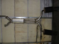 90-95 Zr1 Corvette Lt5 Gm Exhaust System Cat Back Used Oem Great Condition