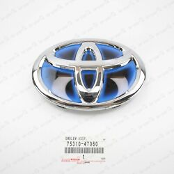 New Genuine For Toyota Front Grille Emblem 16-19 Prius 15-18 Avalon 75310-47060