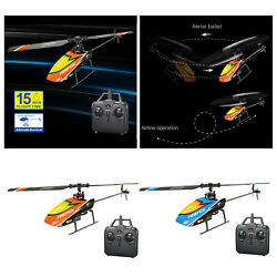 4ch Rc Helicopter Gyro Flybarless Radio Remote Control Drone Aircraft Toys