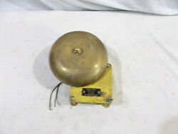 Signal Bell Tone A Type B4-115ad - Solid Brass - Dr. No. 11-t 1306-l Navy Yard