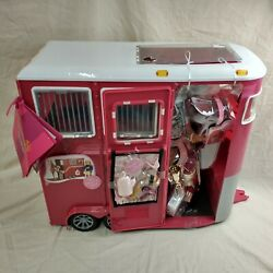 Our Generation Mane Attraction Horse Equestrian Trailer For 18 Dolls By Mattat